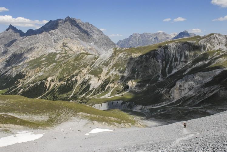 Ufermoränen Val dal Botsch