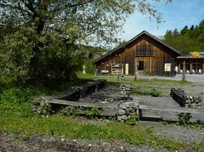 Feuerstelle Besucherzentrum