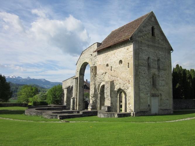 Les ruines du monastère