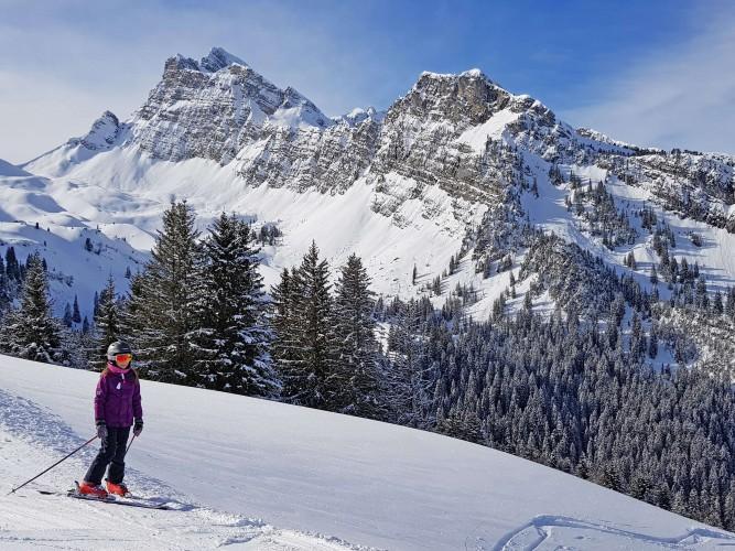 Skigebiet Grimmialp