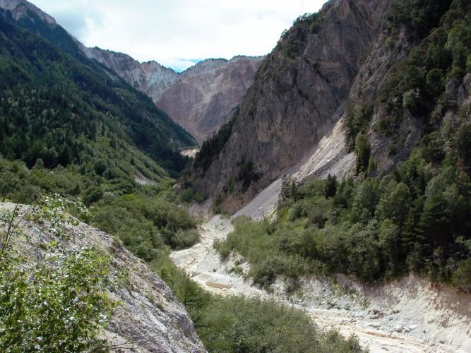 Escursione Illgraben