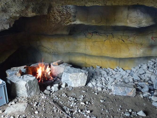 Feuerstelle Feuerhöhle