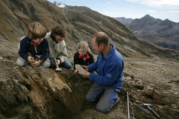 Guided mineral excursions