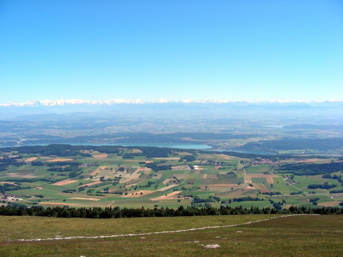 Panorama vom Chasseral