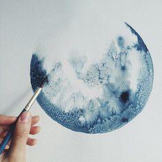Silberschmuck & Aquarell Malen