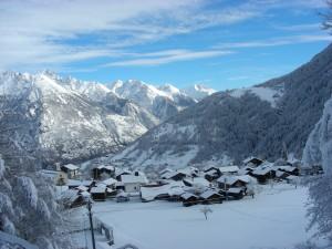 Oberems-Bort Snow-shoe Trail - © Turtmanntal Tourismus