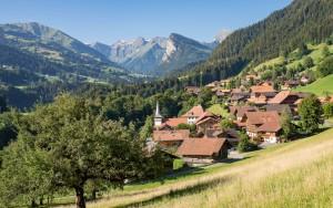 Il villaggio di Diemtigen - © Martin Wymann