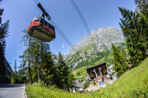 Cable-Cars Torrent - © Leukerbad Tourismus