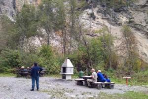 Grillstelle Landwasserviadukt