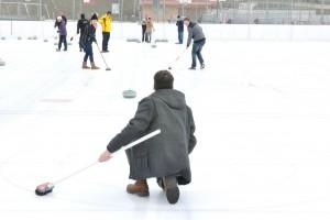 Sport des Préalpes, le curling - © Parc naturel Gruyère Pays-d'Enhaut