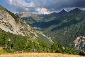 Panoramaweg im Val Tuors