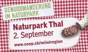 Genusswanderung Naturpark Thal