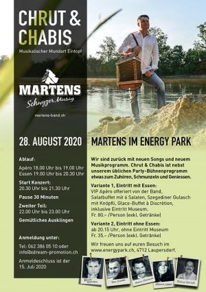 Martens im Energy Prark