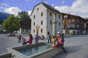Visite du village d'Ernen