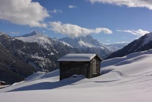 Winterwandern Tenna - Solarweg - © Naturpark Beverin