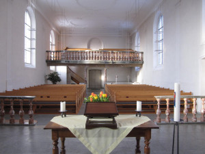 Führung in der Kirche Schinznach-Dorf