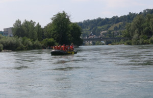 Im Fluss mit Pro Natura - © Pro Natura Aargau, Marianne Rutishauser