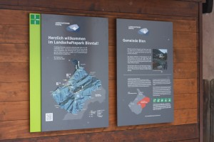 Informationstafeln 2017/2018 - © Landschaftspark Binntal