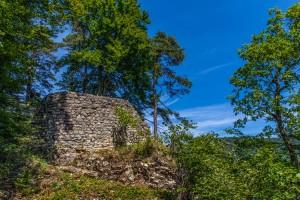 Ruine Königstein - © Foto Kantonsarchäologie Aargau, Béla Polyvás; ©Kanton Aargau