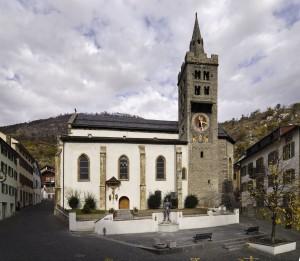 Eglise paroissiale St.Etienne - © Leuk Tourismus