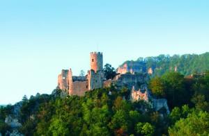 Burgen, Ruinen und Festungen - © Naturpark Thal