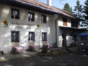 Berggasthof Schwengimatt - © Naturpark Thal