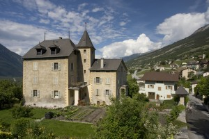 Estates and manor houses - © Leuk Tourismus