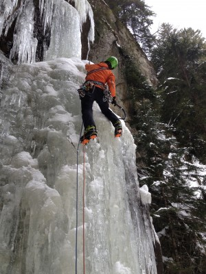 Eiskletterkurs ICE KINGS Avers - © bergsportschule grischa gmbh