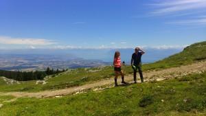 Au sommet du Jura suisse - © Parc Jura vaudois