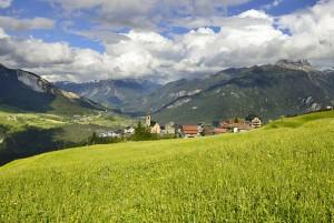 «Veia digl Pader» Panoramaweg - © Lorenz Andreas Fischer
