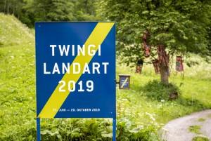 LandArt in der Twingischlucht - © Copyright @ 2019 Matthias Luggen