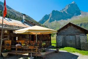 Wanderhütte Piz Platta