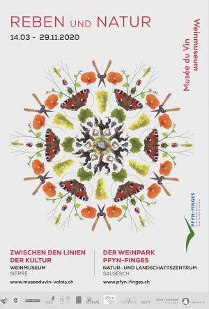 Ausstellung Reben und Natur - © Weinmuseum Siders / Naturpark Pfyn-Finges