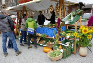 Herbstmarkt - © Landschaftspark Binntal
