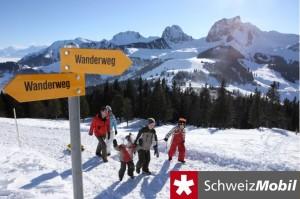 Selibüel-Winterwanderung - © Naturpark Gantrisch