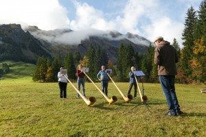 Kurs Alphorn (Schnuppertage) - © David Kurth