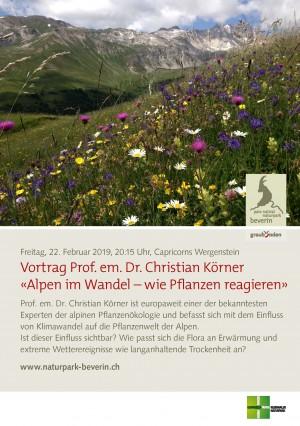 Vortrag Alpen im Wandel