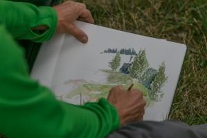 Kurs Zeichnen & Aquarellieren - © davidkurth.com