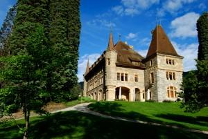 Château Mercier - © Naturpark Pfyn-Finges