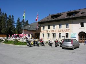 Hôtel Restaurant du Marchairuz - © Parc Jura Vaudois