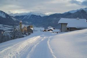 Schlittelweg Stierva - © Tourismusverein Stierva