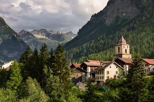 Kulturspaziergang in Bergün