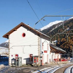 Eröffnung Station Ritz in Niederwald