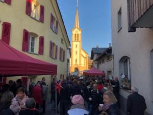 Adventsmarkt - © Verein Weindorf Salgesch