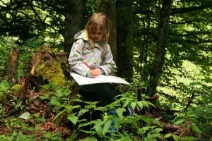 Zeichnen in der Natur - © Parc régional Chasseral