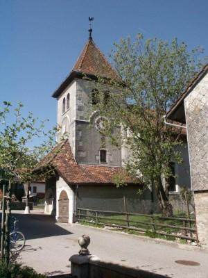 Die Kirche von Mollens - © Parc Jura Vaudois