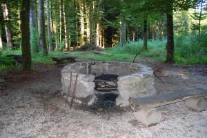 Feuerstelle Albligen Waldhaus