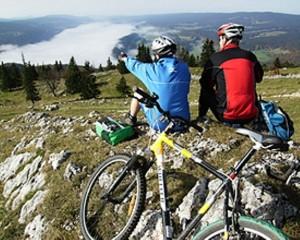 Dent de Vaulion Bike - © SuisseMobile