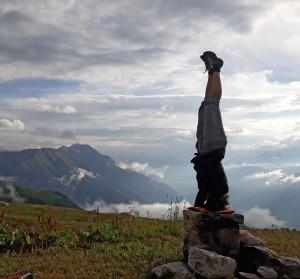 Yoga in Ernen