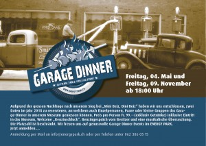 Garage Dinner - © Energy Park AG